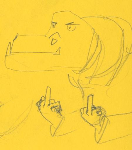 Hippo fingers