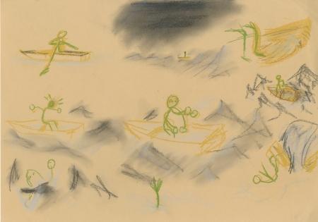 Underwater colour sketch 4
