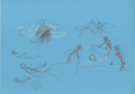 Underwater colour sketch 5